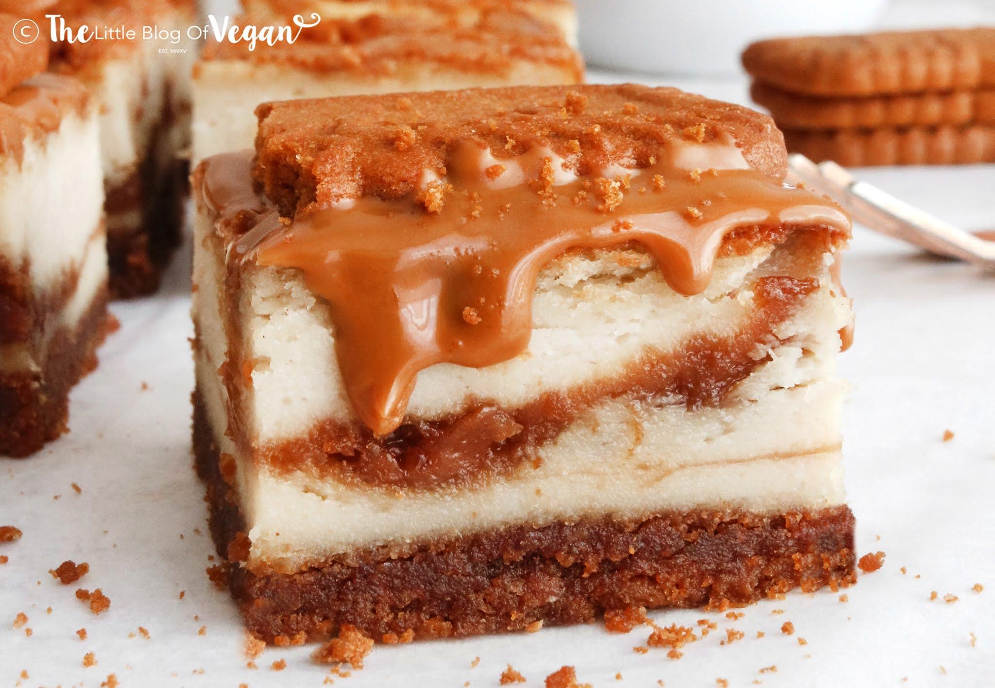 Baked Biscoff Cheesecake Bars