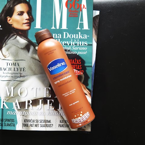 Vaseline intensive care spray moisturiser purškiamas kūno losjonas