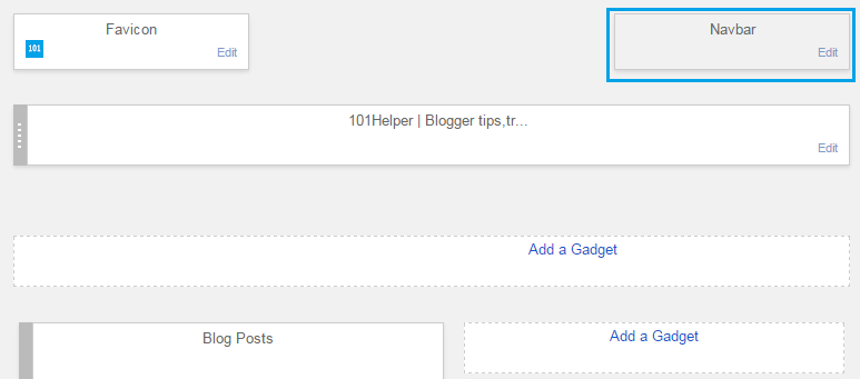 How to disable navbar in blogger | 101helper blogging