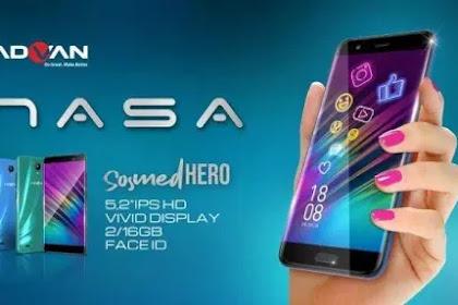 √ Advan Nasa, Smartphone Android 9.0 Pie Harga Cuma 749 Ribuan