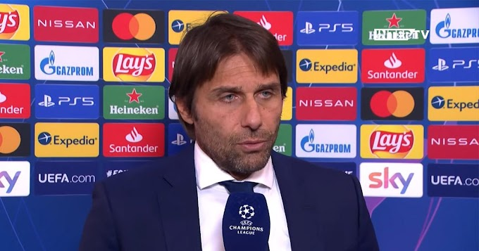 Inter Milan coach Antonio Conte reveal his team and Madrid are on 'different levels' after Champions League loss