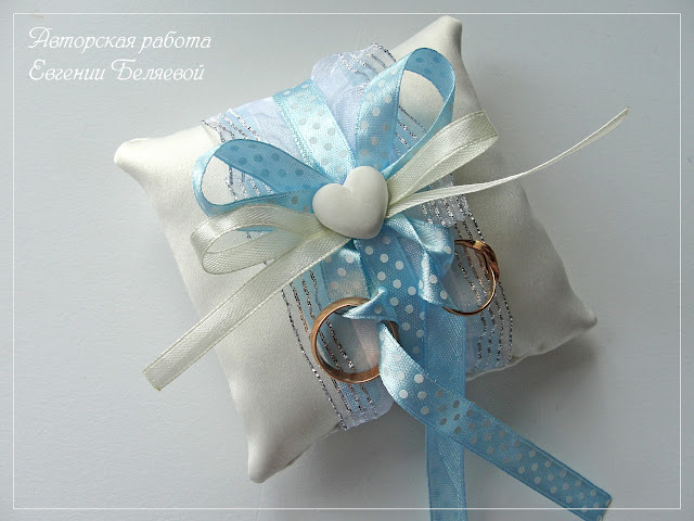 подушечка для колец, аксессуары на свадьбу, купить подушку для колец