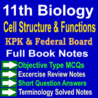 Biology Chapter One Notes KPK and Federal Board Notes