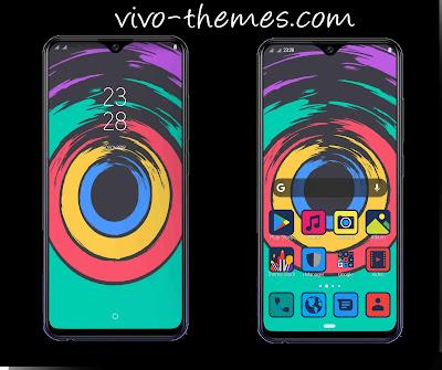 Dark Circles Theme For Vivo Android Smartphone