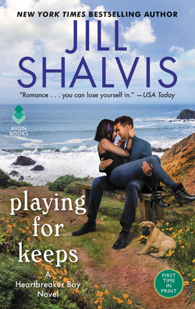 Book Review: Playing for Keeps (Heartbreaker Bay #7) by Jill Shalvis | About That Story