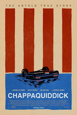 """EL ESCÁNDALO TED KENNEDY (""""Chappaquiddick"""") - Cartel película"""