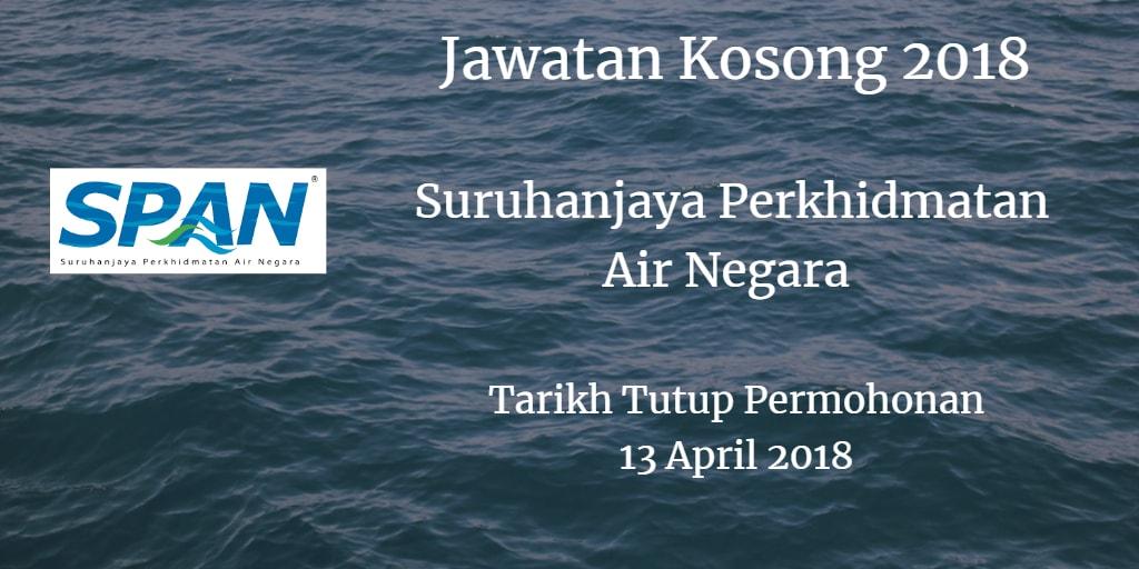 Jawatan Kosong SPAN 13 April 2018