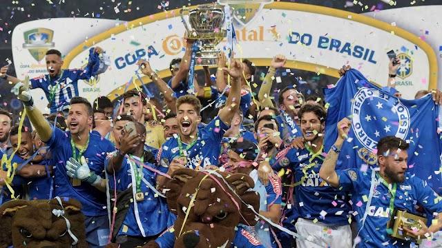 Cruzeiro vence Flamengo nos pênaltis e é penta da Copa do Brasil
