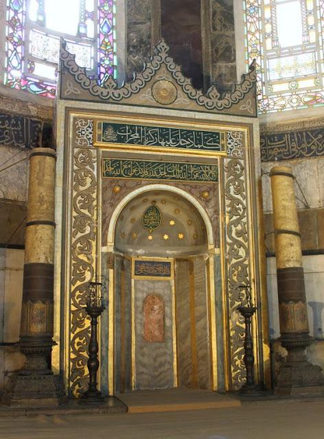 Desain Mihrab Masjid Megah di Dunia