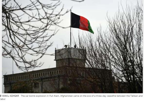 Car bomb kills at least 17 in Afghanistan beforehand of ceasefireCar bomb kills at least 17 in Afghanistan beforehand of ceasefire