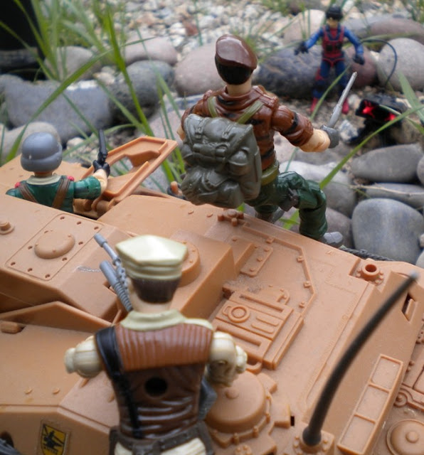 1984 Scrap Iron, 1985 Crankcase, Mauler, 1986 Mission to Brazil Leatherneck, 1988 Tiger Force Flint