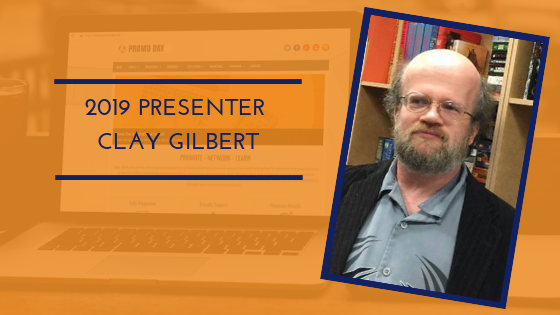 Promo Day 2019 Presenter Clay Gilbert