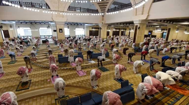 Amending Mosque Protocols by allowing Lectures, Opening Ablution places and Toilets - Saudi-Expatriates.com