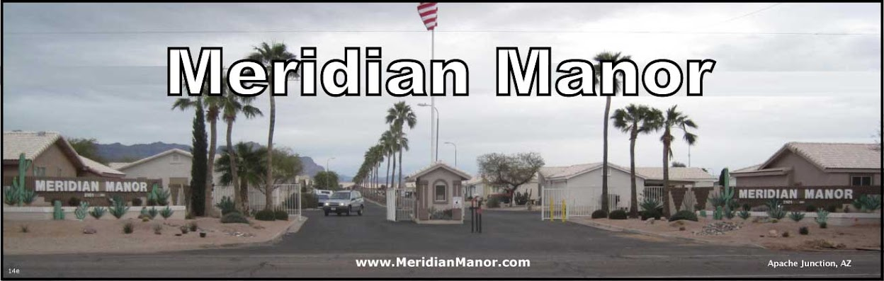 55+ Gated Community | Apache Junction AZ | MeridianManor.com