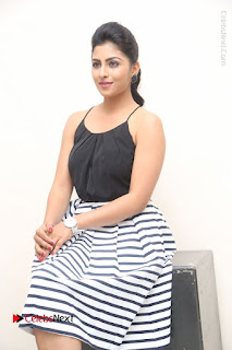 Telugu Actress Kruthika Jayakumar Stills in Short Dress at Intlo Deyyam Nakem Bhayam Success Meet  0190.JPG