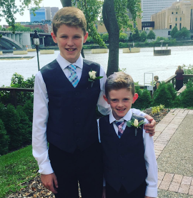 brothers, wedding, back to school