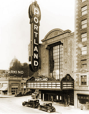 theaters portland or jerry s brokendown palaces paramount northwest paramount