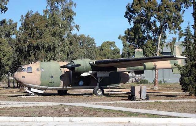 Ομοίωμα αεροσκάφους Noratlas στον τόπο της θυσίας των Ελλήνων καταδρομέων στην Κύπρο