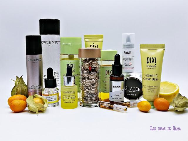 vitamina c antimanchas glow beauty skincare belleza cosmética dermocósmetica cuidado facial