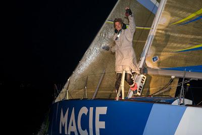 Charlie Dalin remporte la grande course sur la Le Havre All Mer Cup