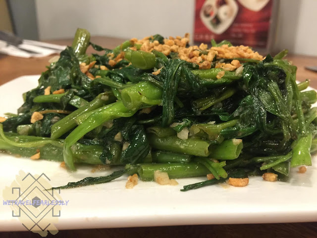 Chinese Kangkong (PHP195) of Char Dining in Uptown Parade, BGC