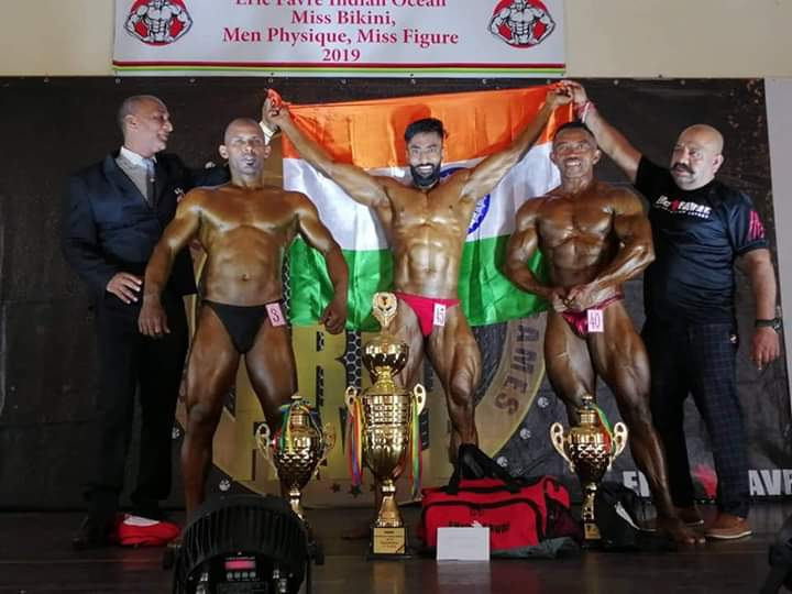 Mumbai News Network Latest News Dharmendramunde Wins Gold Medal In Bodybuilding As Mr World Championship