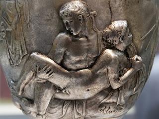 Homosexualidad en Roma. Vaso Warren, lado B