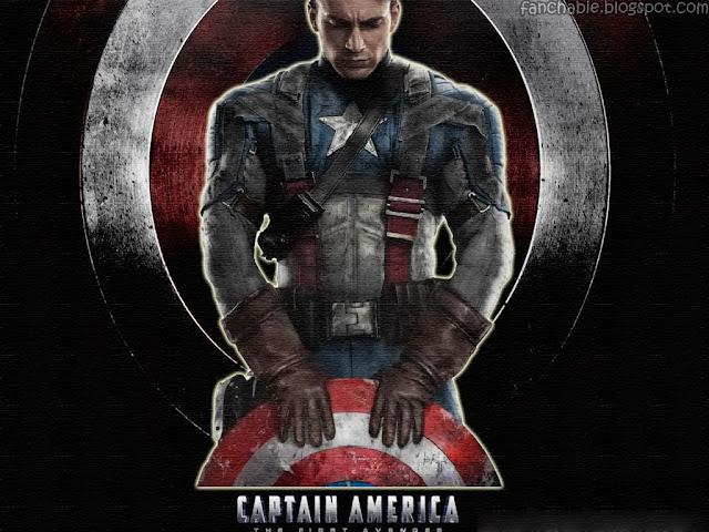 Cris Evans as Captain America 2