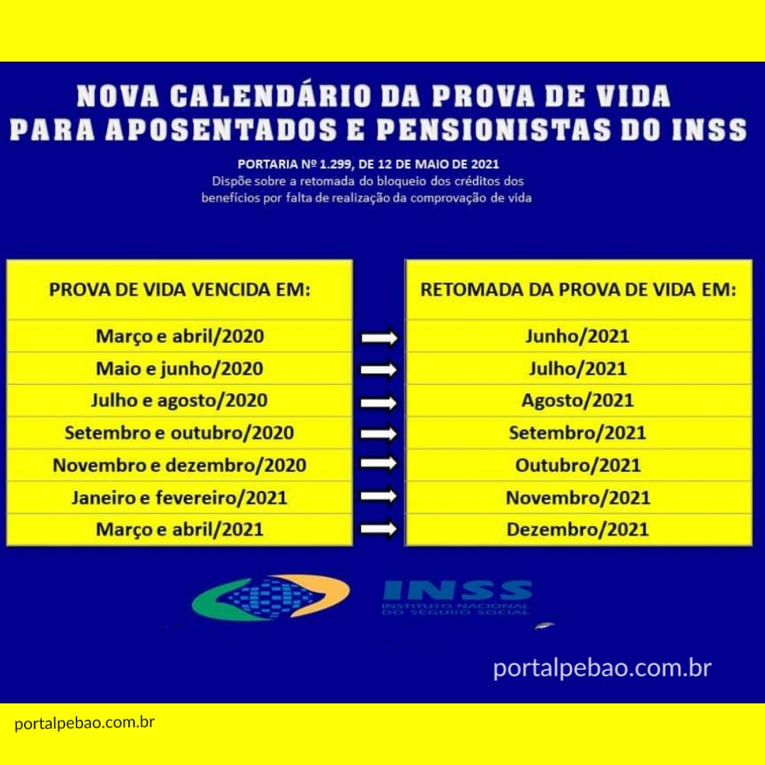 Prova de Vida do INSS voltou, veja regras e o novo calendário