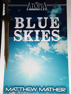 Portada de libro Blue Skies, de Matthew Mather