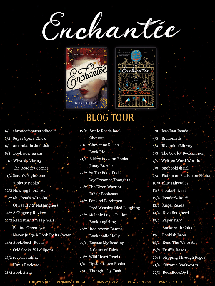 Blog Tour: Enchantee by Gita Trelease
