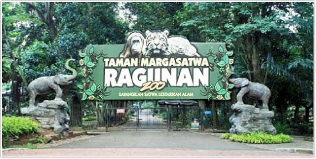 Taman Margasatwa Ragunan;Destinasi Wisata Jakarta