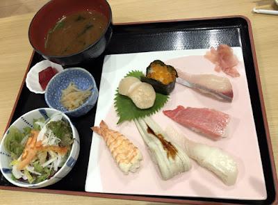 活魚料理 魚榮(さかえ) 上寿司定食