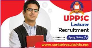 UPPSC Lecturer Govt Ashram Paddhati