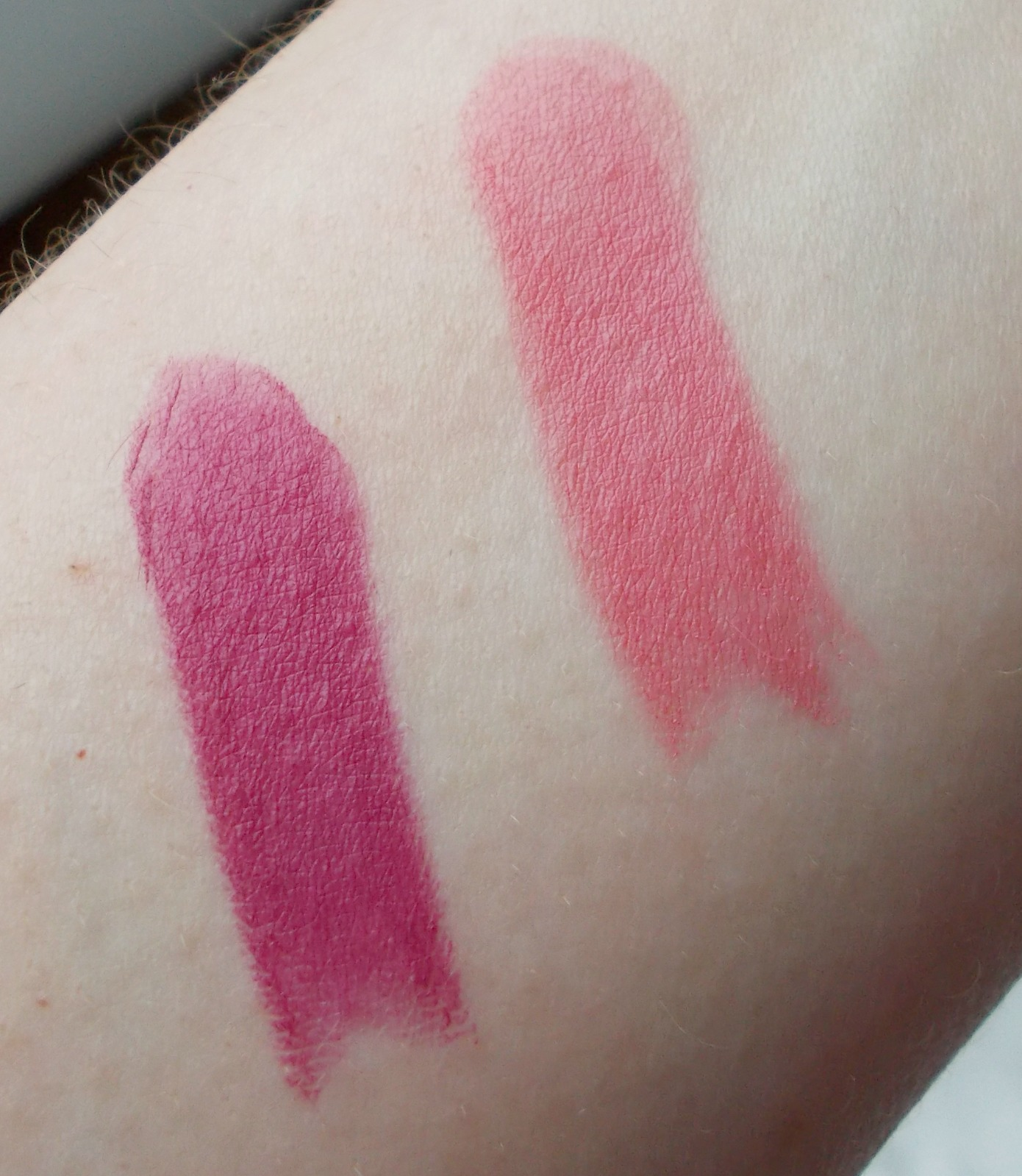 soap and glory sexy mother pucker matte lip berry much pretty muted swatches