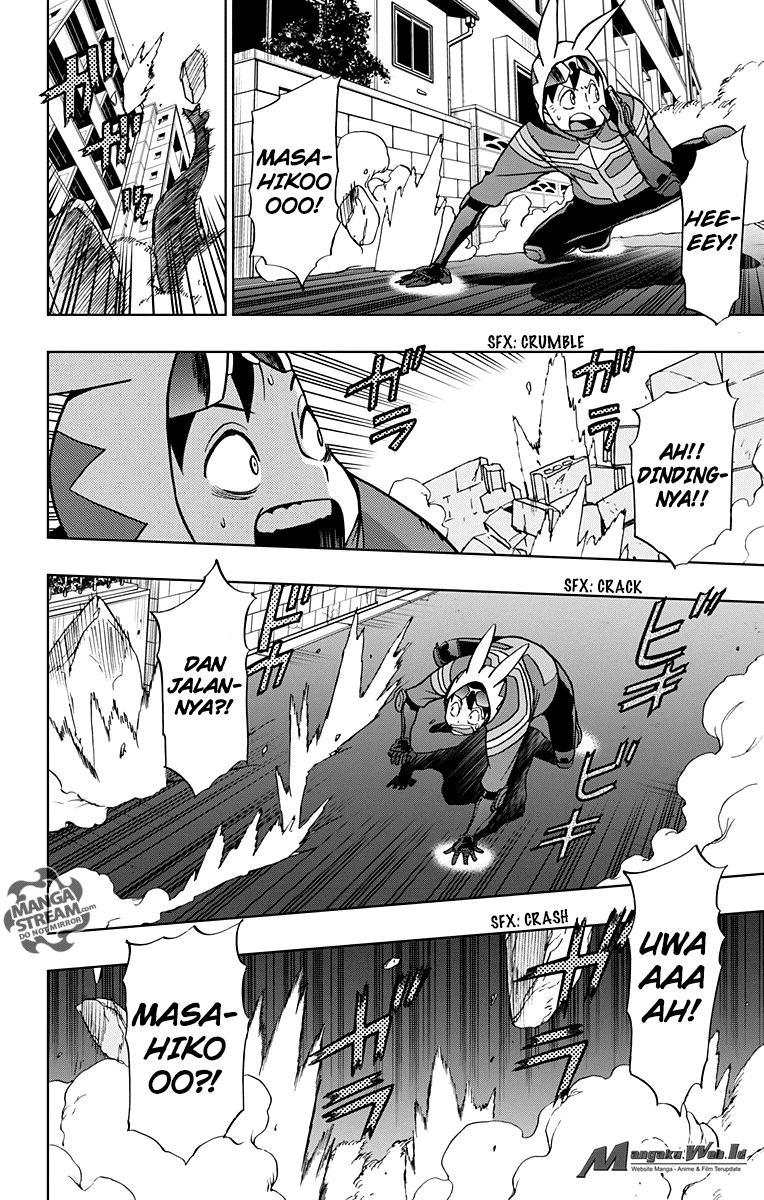 Boku no Hero Academia Illegals Chapter 14-17