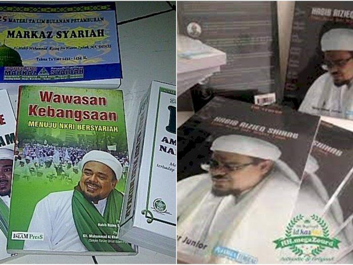 Masya Allah! Habib Rizieq Shihab Buka Perpustakaan di Rutan, Isinya Buku-Buku Aqidah dan Dakwah
