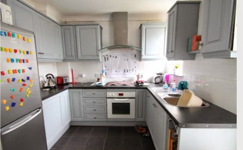 Chichester buy to let house kitchen