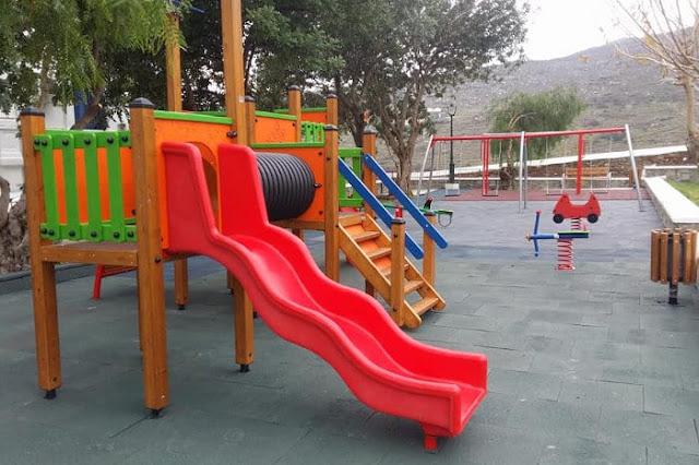 8 νέες παιδικές χαρές μέχρι το Πάσχα στο Δήμο Επιδαύρου