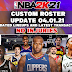 NBA 2K21 CUSTOM ROSTER UPDATE 04.01.21 LATEST TRANSACTIONS (NO INJURIES)