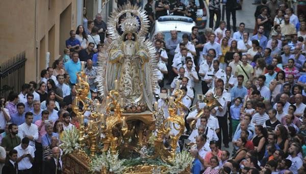 Horario e Itinerario Procesión de Nuestra Señora de la Encarnación de la Hermandad de la Cena. Sevilla 10 de Octubre del 2021