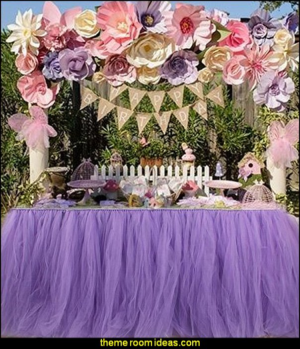 Table Tutu Skirt Party Tulle Tableware for Wedding Birthday Party Decoration