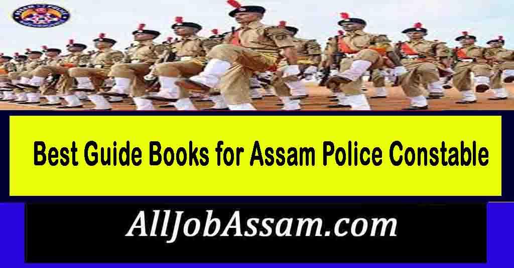 Assam Police Constable Exam Books 2021