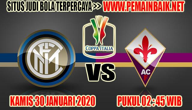 Prediksi Pertandingan Coppa Italia : Intermilan Vs Fiorentina