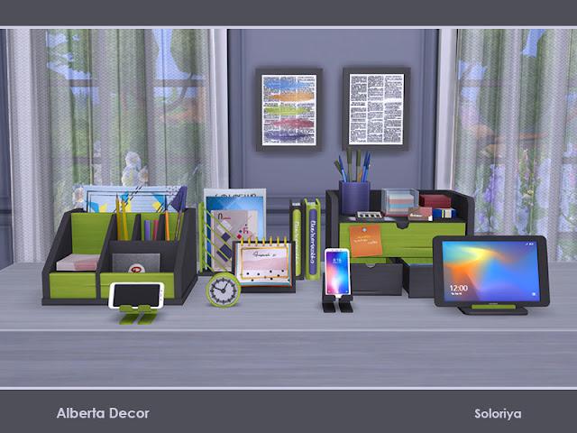 Офисный декор для The Sims 4 со ссылками для скачивания