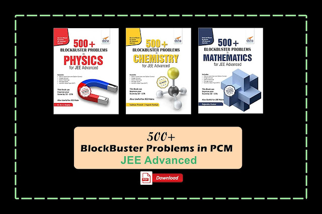 [PDF] Disha 500 Blockbuster Problems in PCM for JEE Advanced | Download