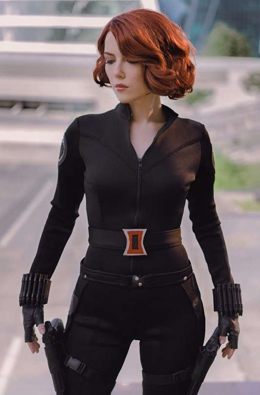 helen stifler sexy black widow cosplay 03