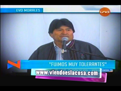 VIDEO: EVO MORALES NO QUIERE SERVIDORES PÚBLICOS QUE LE CHUPEN LAS TETILLAS