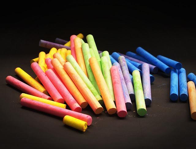 chalk-sticks