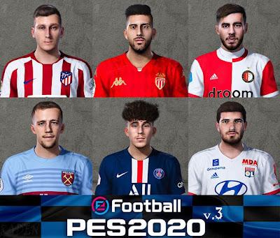 PES 2020 New Facepack V3 by Raden